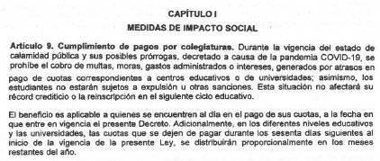 Artículo 9 del decreto 12-2020