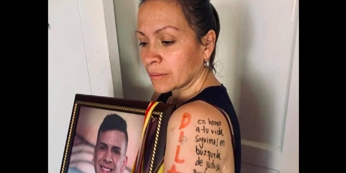 Aparece la mamá de Dilan Cruz, pidiendo justicia por la muerte de su hijo