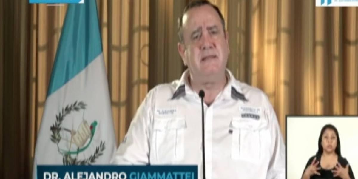 Giammattei confirma 16 nuevos casos de coronavirus en Guatemala, total es de 153