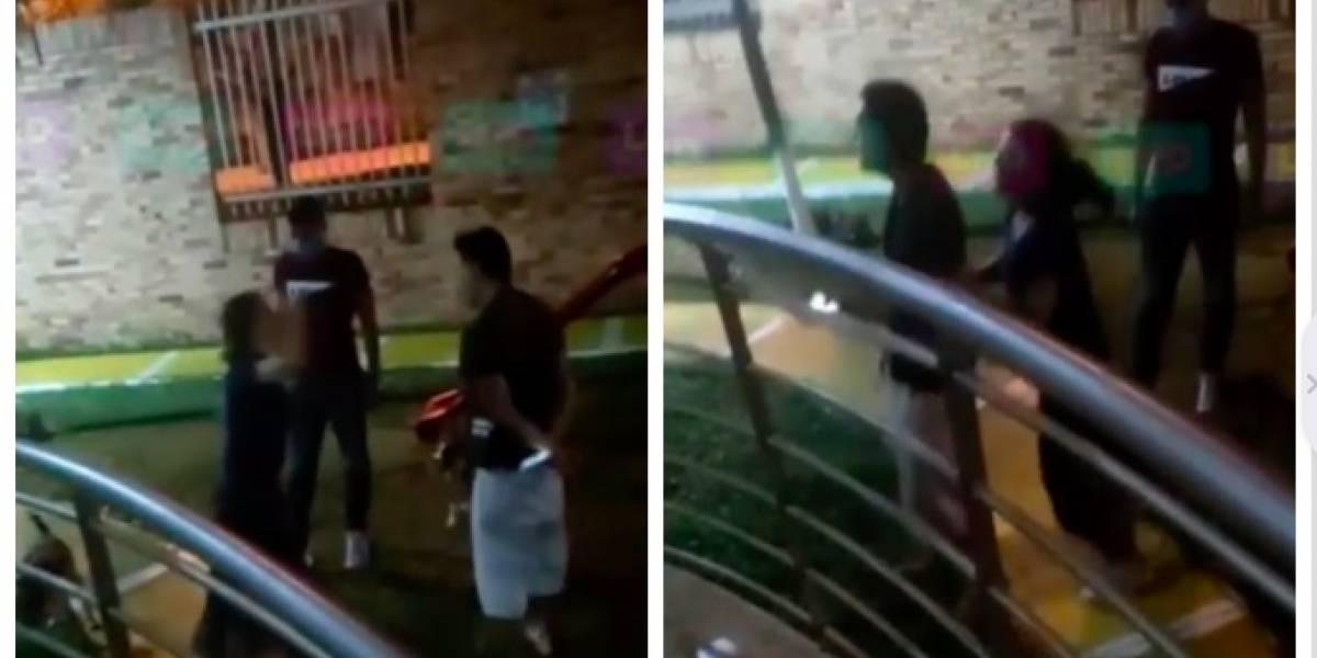 (Video) Actriz protagonizó bochornoso agarrón con su vecino en medio de la cuarentena