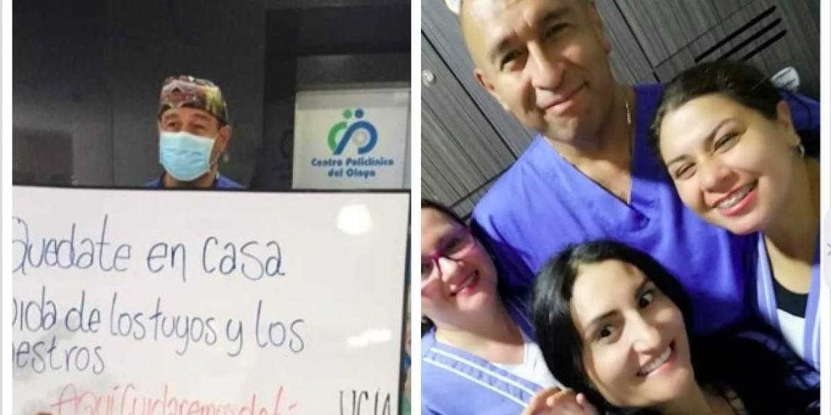 Él era William Gutiérrez, el segundo médico que murió por coronavirus en Colombia