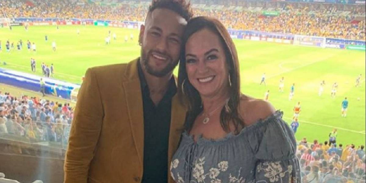 ¡Seis años menor que el futbolista! La madre de Neymar presentó al nuevo padrastro del astro brasileño