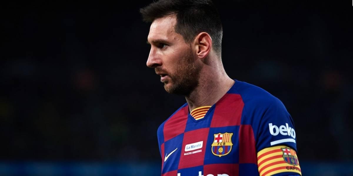 Messi envió mensaje de agradecimiento a los médicos por su trabajo en medio del coronavirus