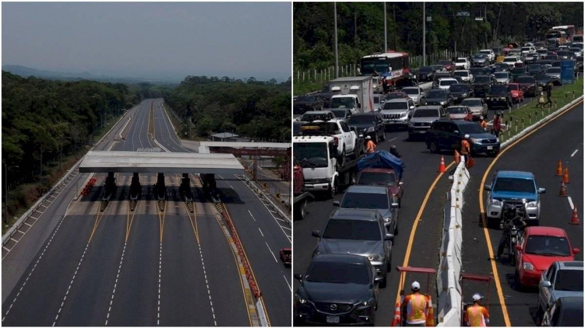 Peaje Palín-Escuintla 2020 y 2019
