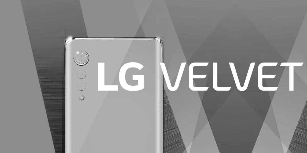 LG Velvet es oficialmente mostrado en un misterioso vistazo