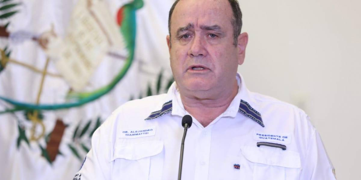 Violencia intrafamiliar ha aumentado durante el confinamiento, dice Giammattei