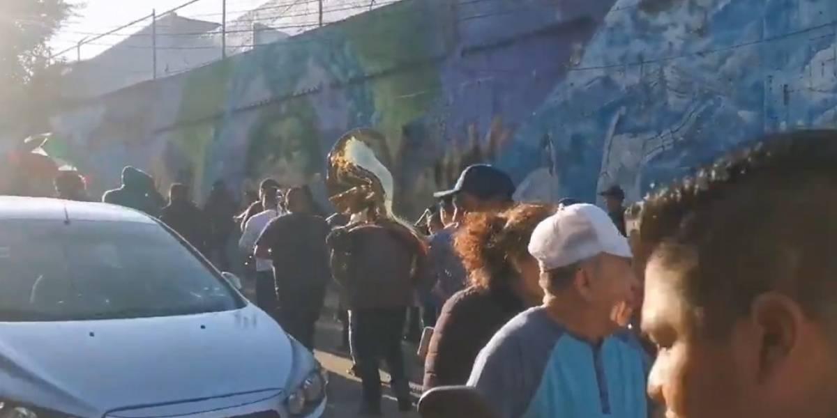 (Video) Habitantes de pueblo ignoraron el distanciamiento social y se fueron de de carnaval