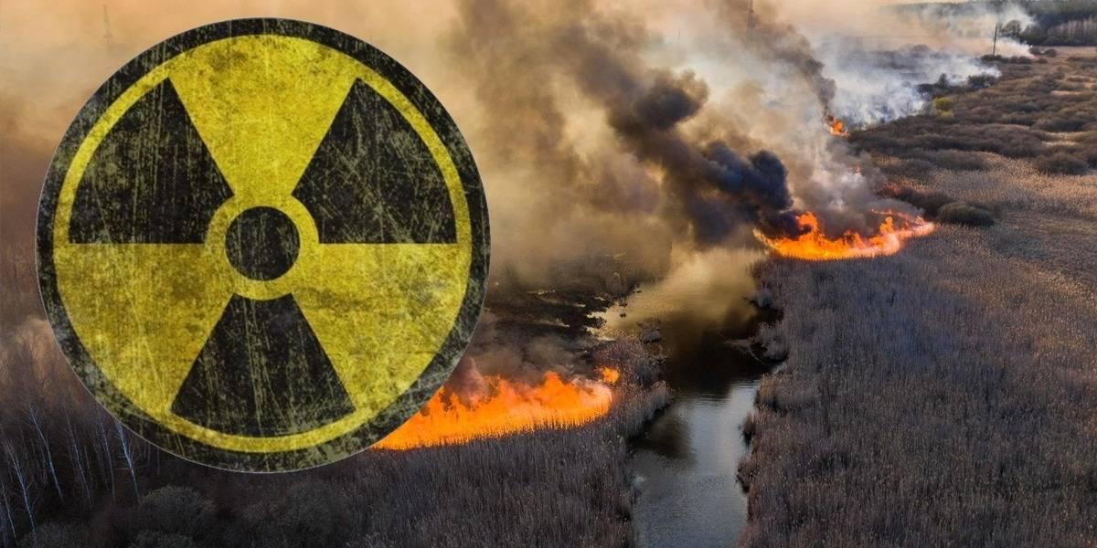 Chernobyl: radiación se reactiva por incendios forestales en Ucrania