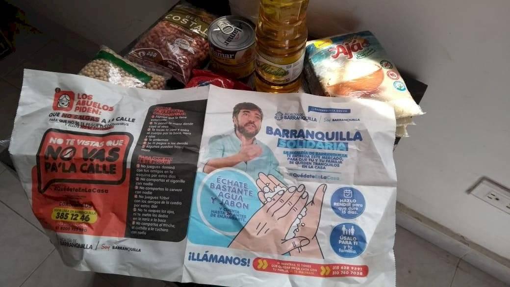 Ayudas alimentarias Barranquilla