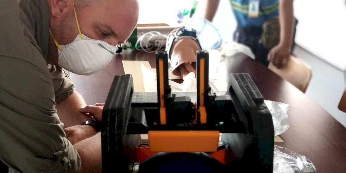 Desarrollan en Guatemala ventilador mecánico y portátil de bajo costo