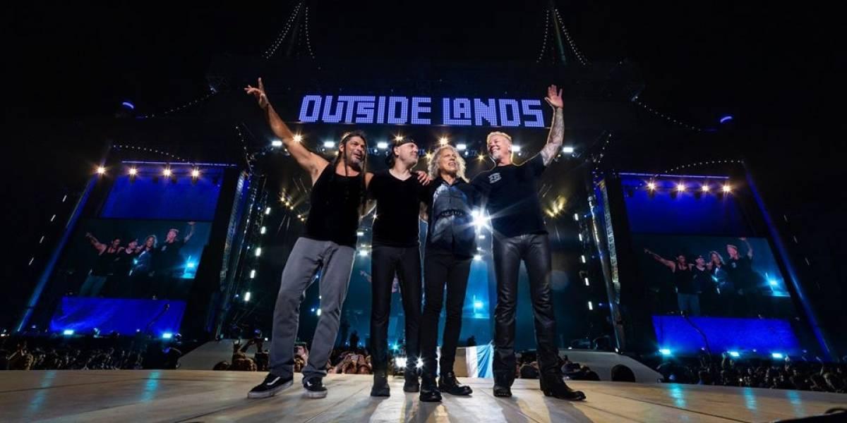 Metallica exibe show em São Francisco no Youtube nesta segunda