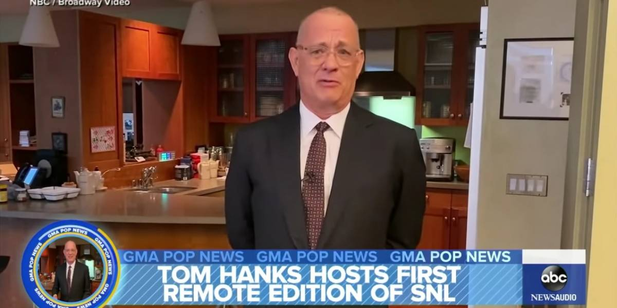 Tom Hanks aparece en tv tras recuperarse de coronavirus