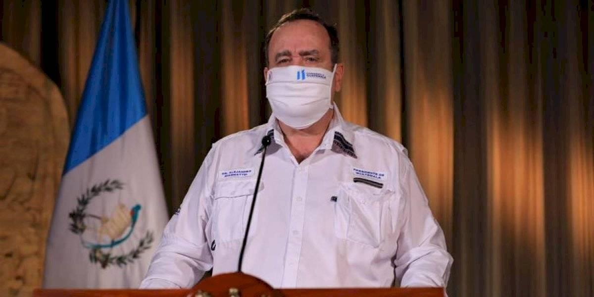 VIDEO. Presidente Giammattei confirma 13 nuevos casos de coronavirus
