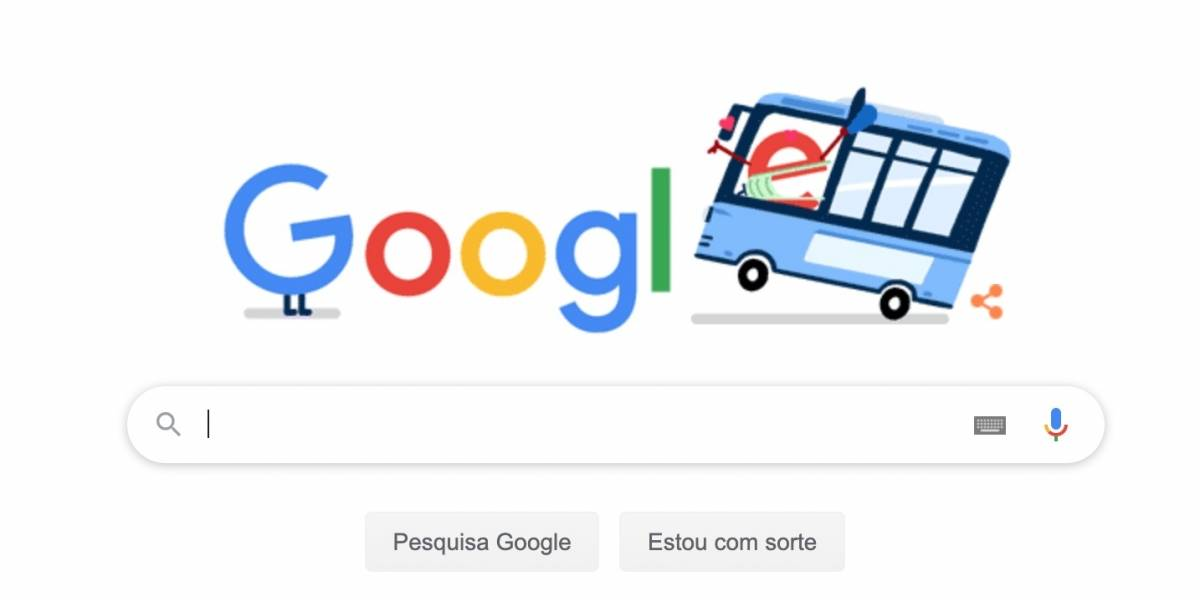 Google compartilha doodle para homenagear trabalhadores do transporte público