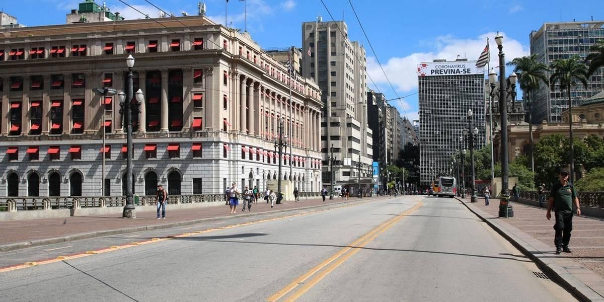 Taxa de isolamento social volta a cair em São Paulo