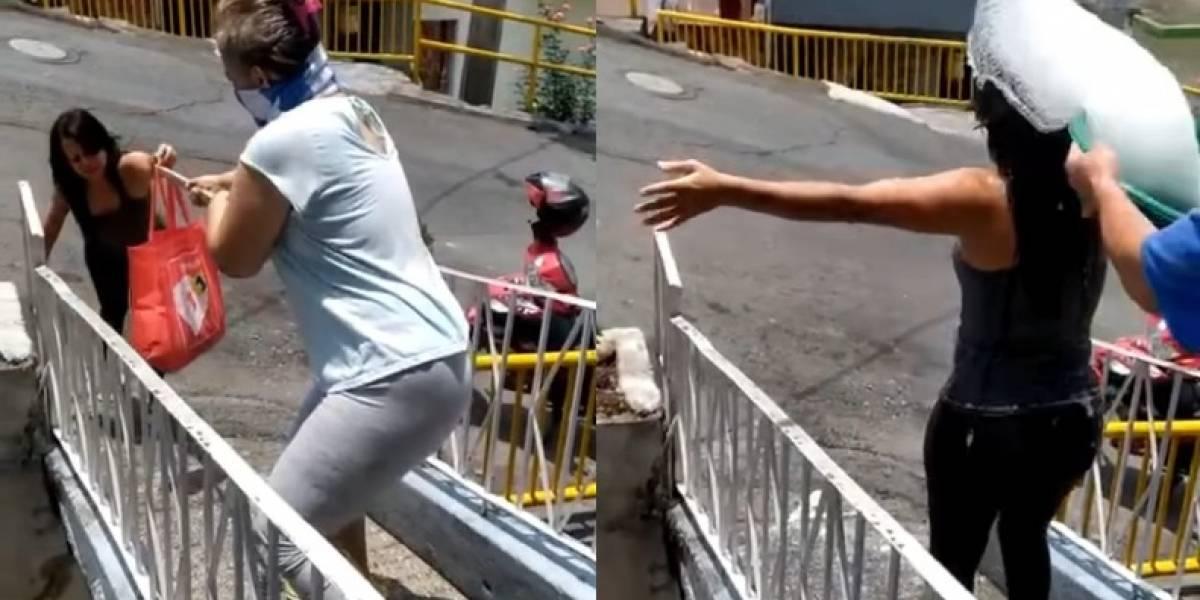"""VÍDEO: Família divulga """"solução"""" para ir ao mercado sem pegar covid-19 e viraliza"""