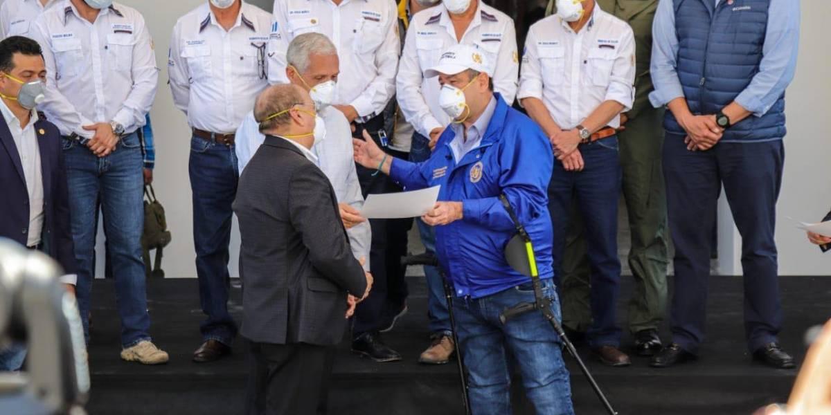 """Guillermo Castillo Villacorta: """"Procuramos ayudar a quienes más lo necesitan y dónde más se necesita"""""""