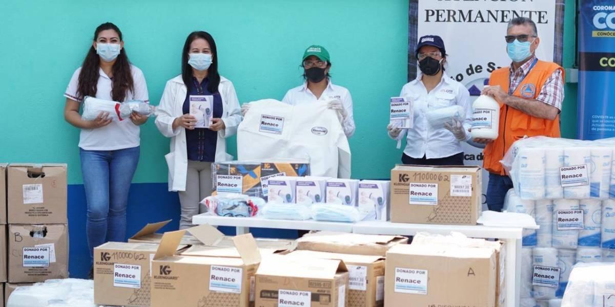 Hidroeléctrica Renace dona insumos médicos a beneficio de San Pedro Carchá