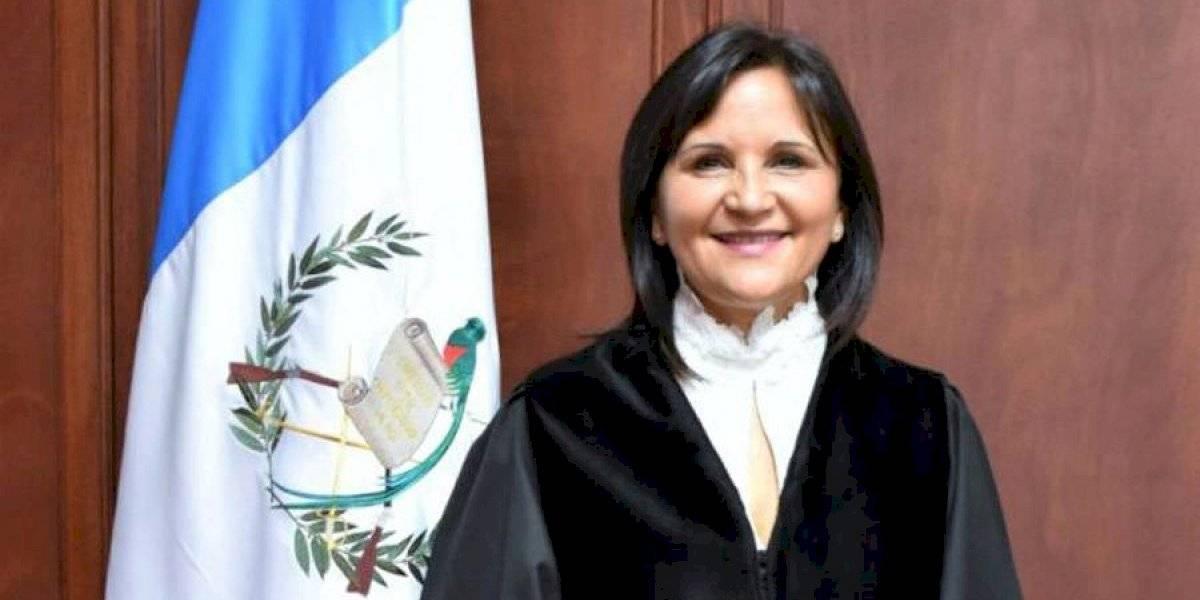 Gloria Porras asume presidencia de la Corte de Constitucionalidad