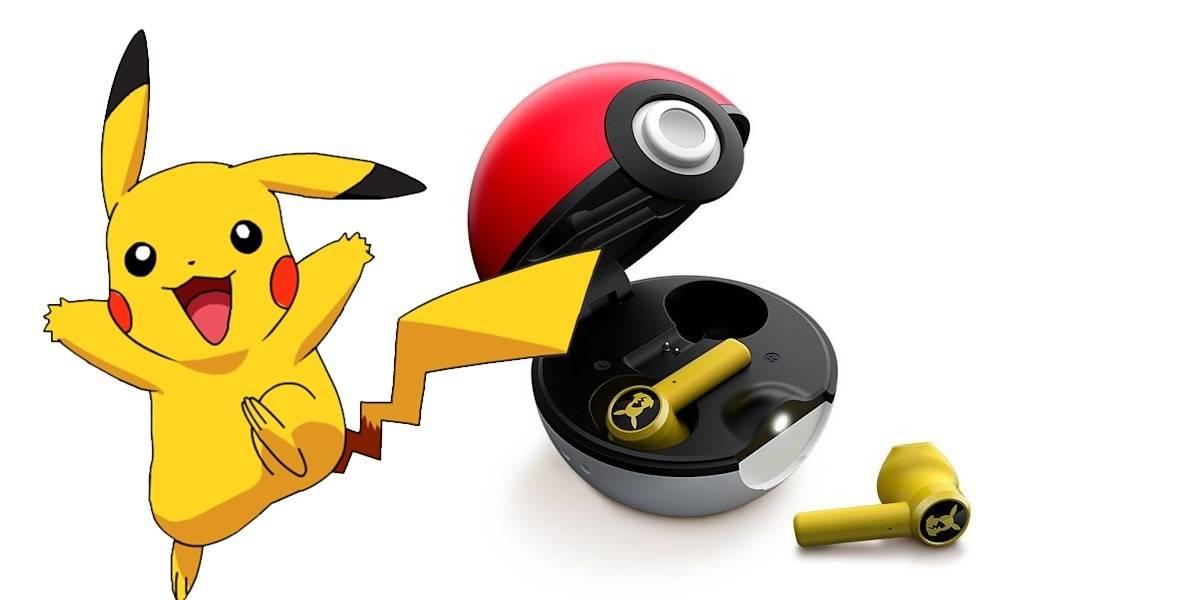 Pokémon: los audífonos oficiales de Pikachu vienen con todo y pokebola