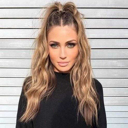 Espectacular peinados para pelo rizado Fotos de cortes de pelo Ideas - Peinados para cabello ondulado que puedes hacer en 10 ...
