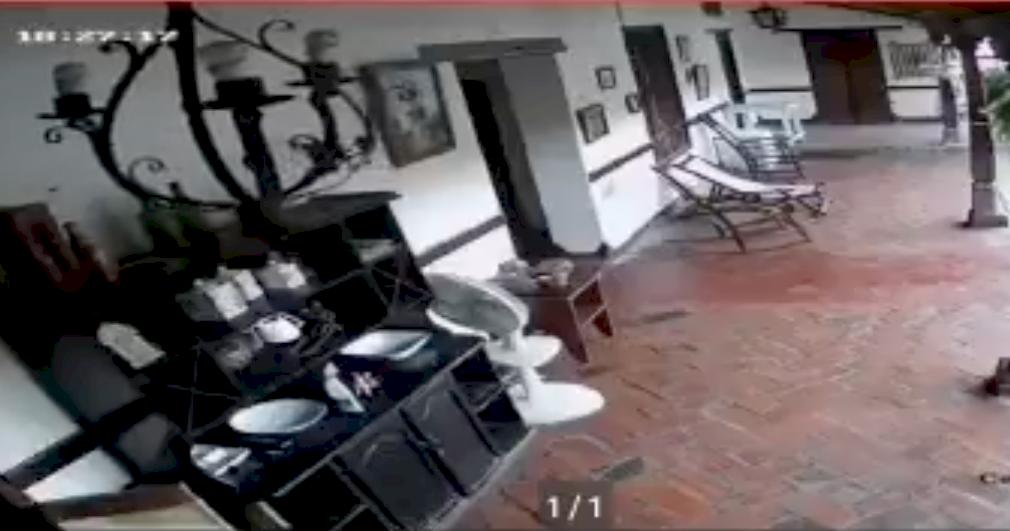 (Video) Ciudadanos registraron el fuerte temblor que se sintió en gran parte de Colombia