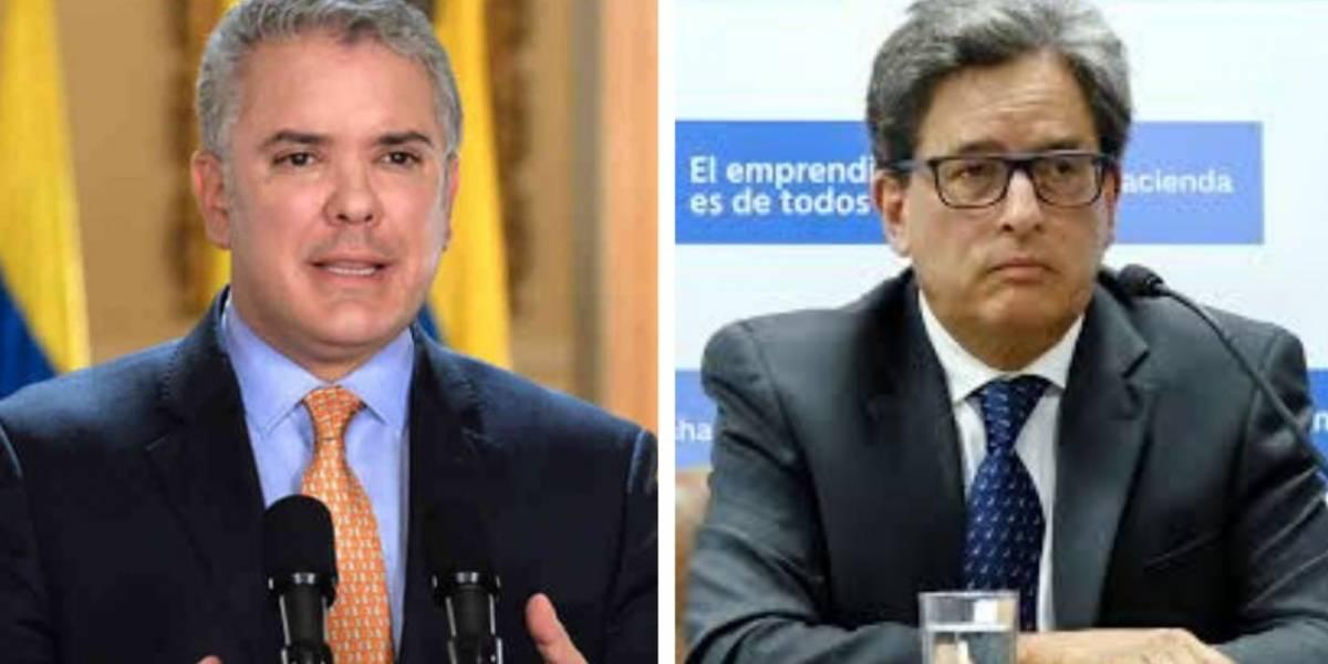 La vaciada del presidente a MinHacienda por proponer reforma tributaria