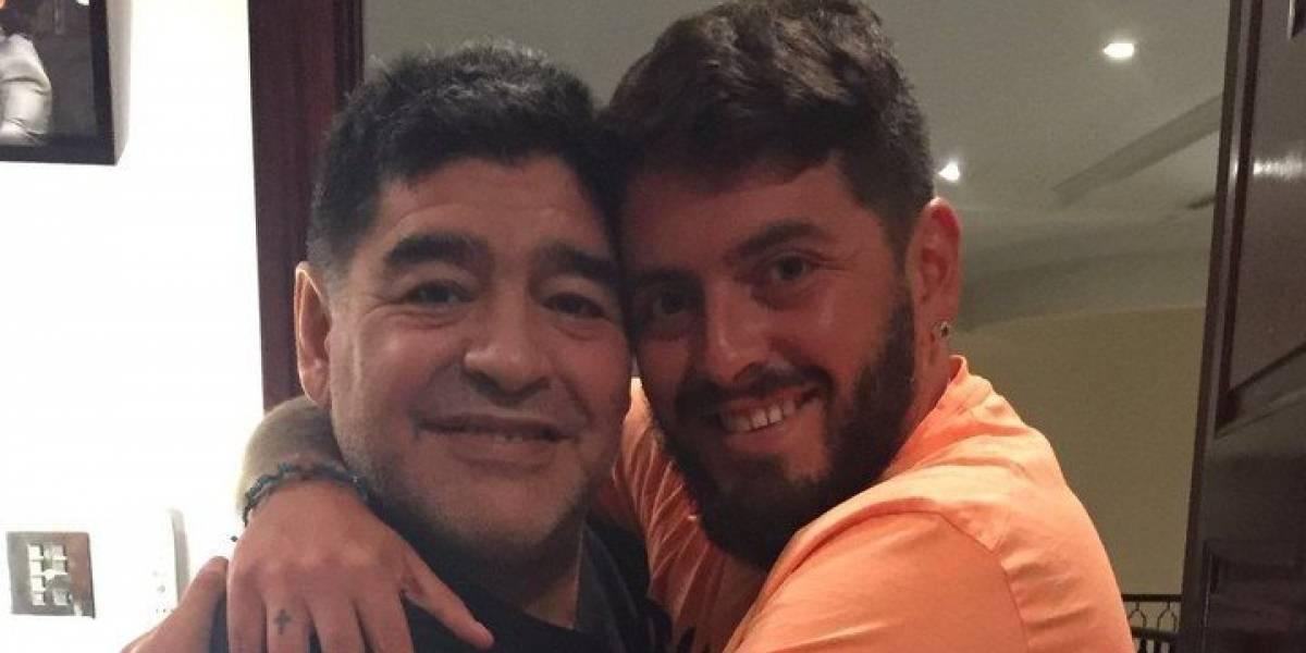 """VIDEO. Hijo de Diego Maradona: """"Messi es un gigante"""""""