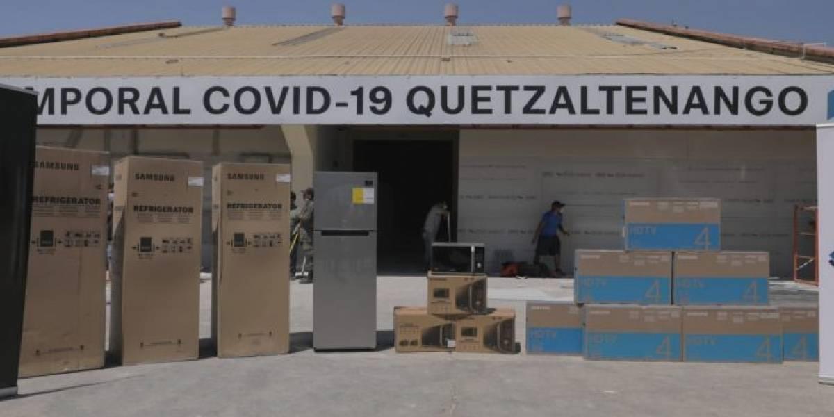Gobierno habilita hospital de Quetzaltenango para atender casos de Covid-19