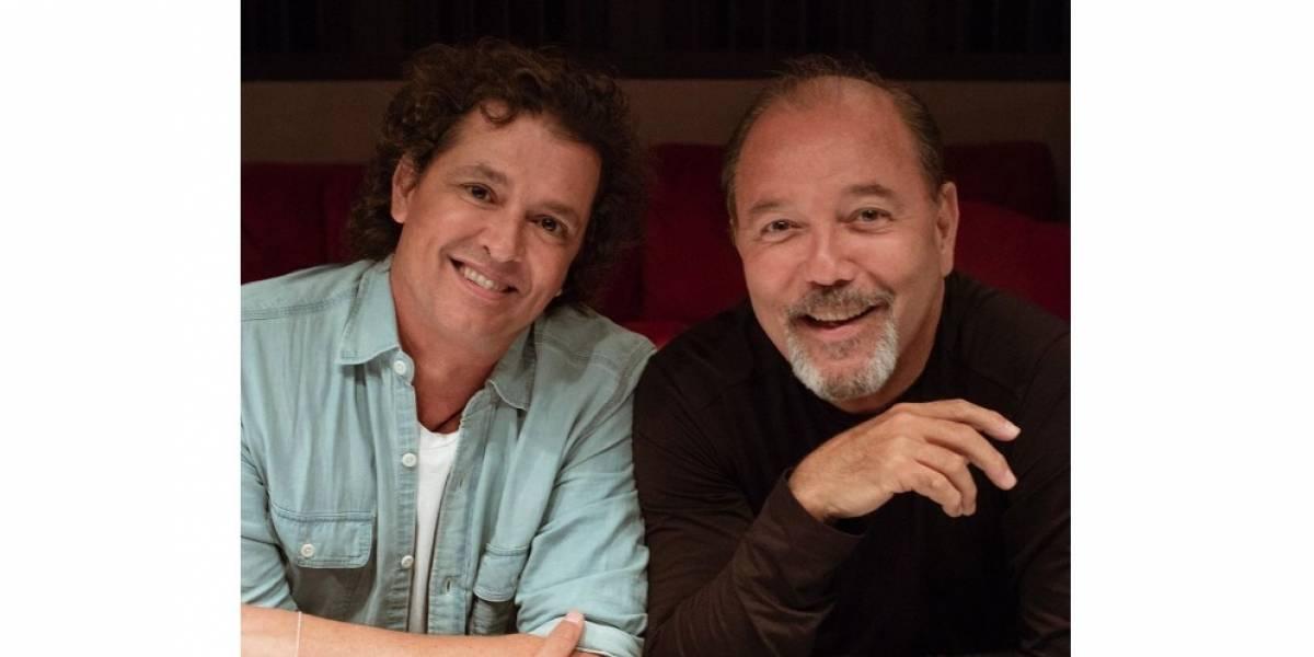 Carlos Vives y Rubén Blades unen sus voces para cantarle a los enfermos por COVID-19