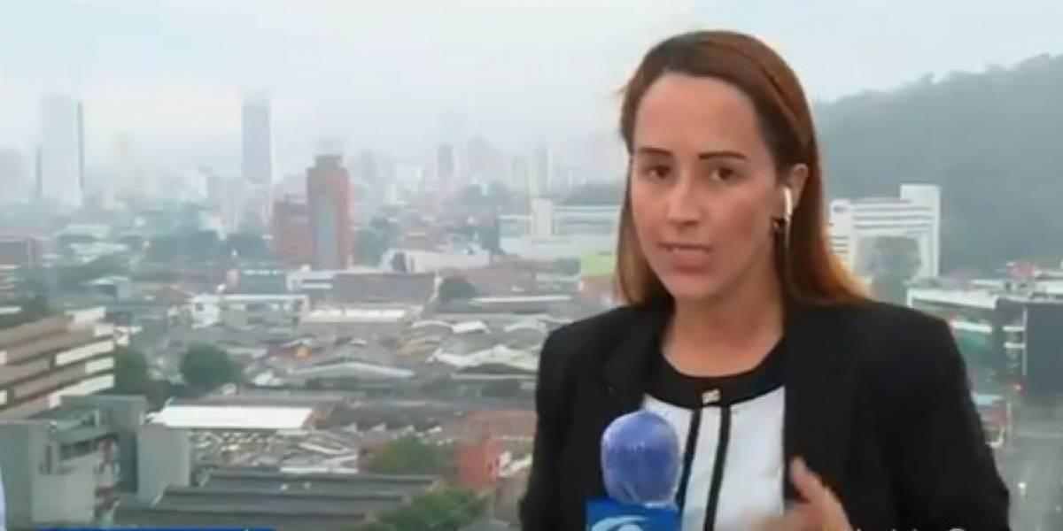 Por detalle de su pasado, Érika Zapata, reportera de Caracol, decepcionó a algunos de sus fanáticos