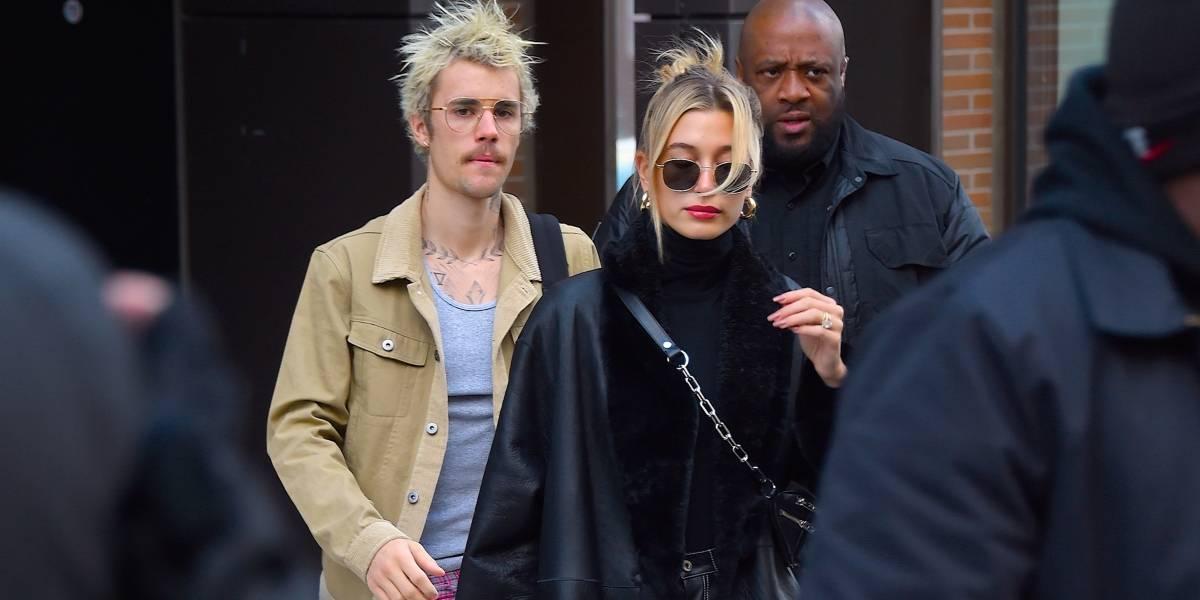 Hailey revela que ela e Justin Bieber enfrentam problemas dermatológicos