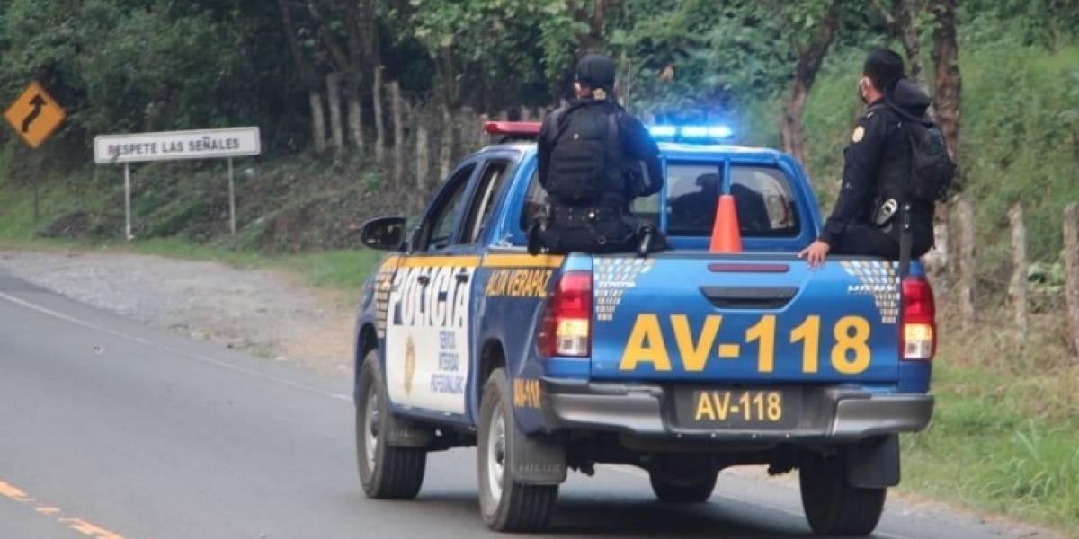 Agentes de la PNC y PMT pierden la vida en cumplimiento de su deber en Alta Verapaz