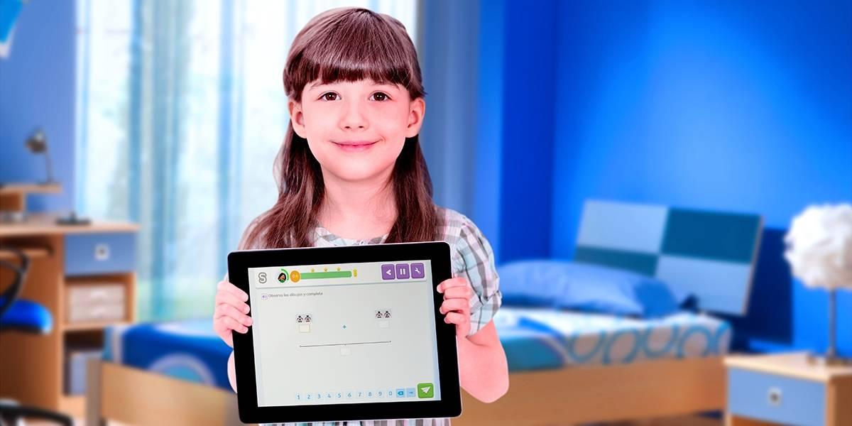 Con tan solo 15 minutos diarios los niños pueden aprender mejor matemáticas con Smartick