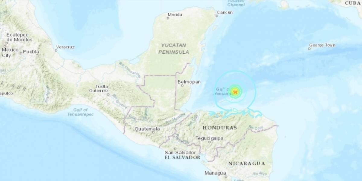 Sismo de 6 grados sacudió Centroamérica y México