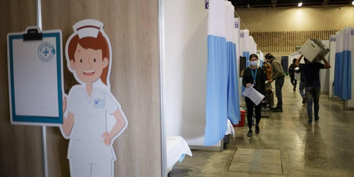 Hospital de Corferias: lento pero caminando