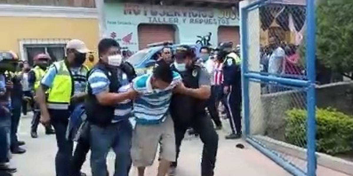 VIDEO. Capturan a implicados en crimen de agentes de PNC y PMT