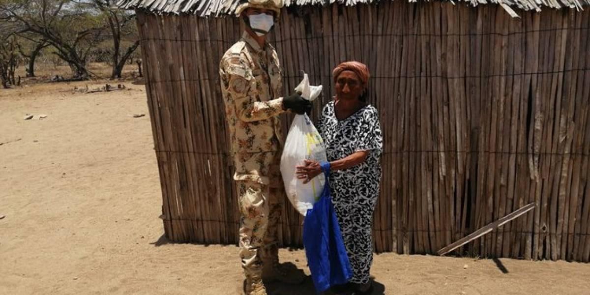 """""""El coronavirus no nos matará, pero el hambre sí"""": voces del pueblo wayúu en La Guajira"""