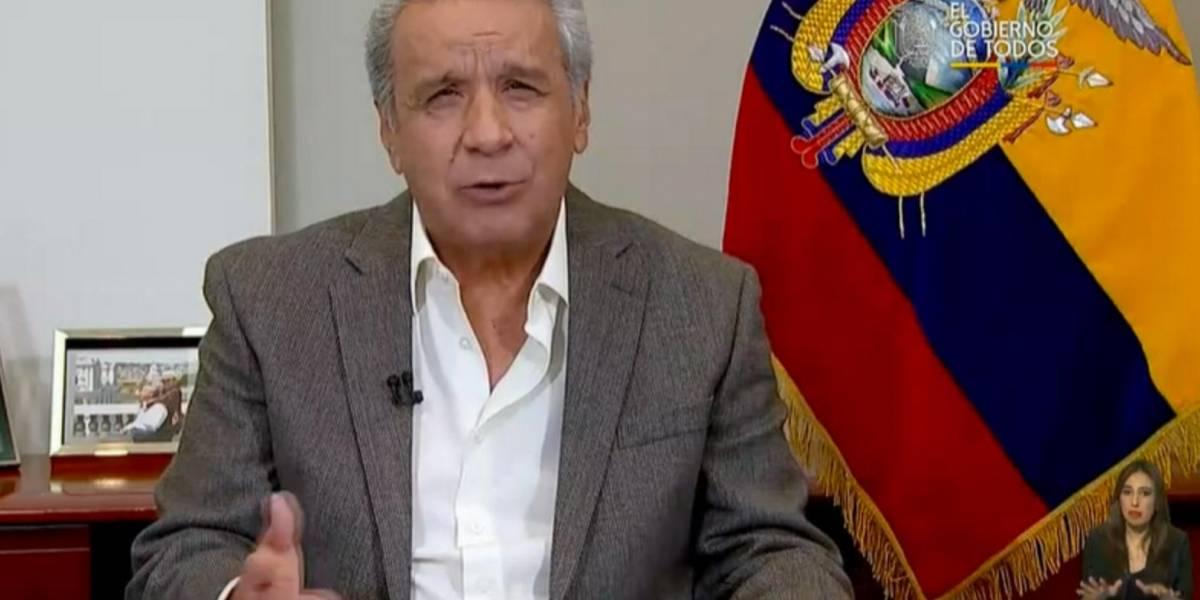 El presidente Lenín Moreno firmó decreto para reducción de su sueldo