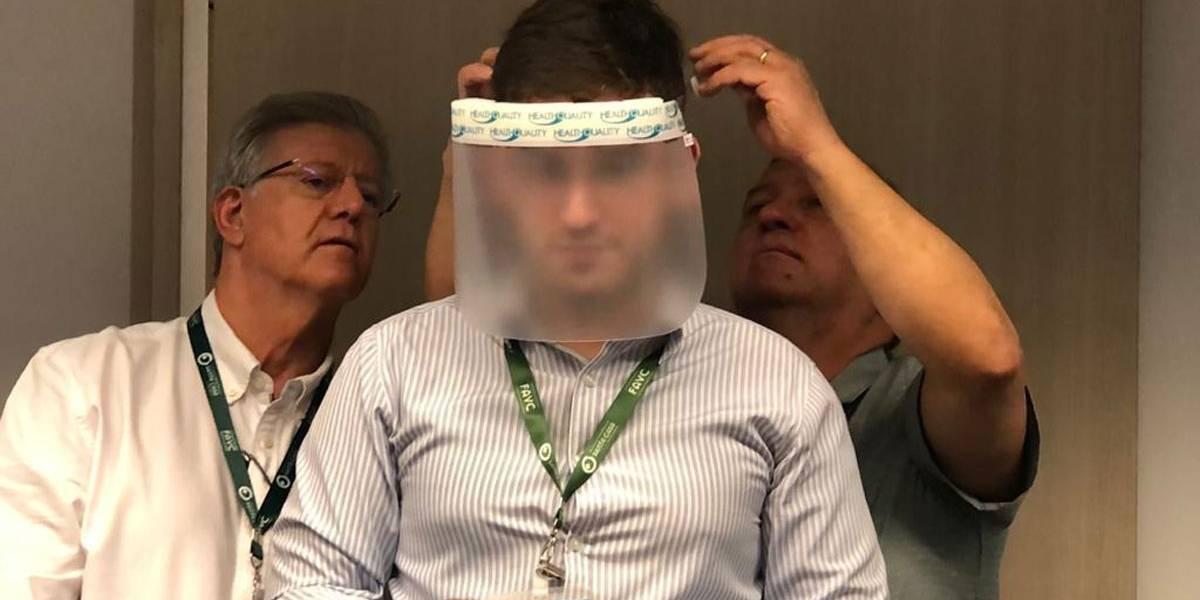 Na guerra contra o coronavírus, ACSP doa escudos faciais para Santa Casa