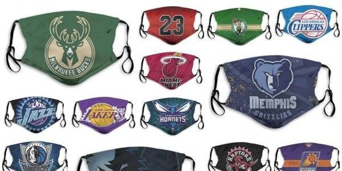 NBA venderá mascarillas de sus equipos para ayudar a afectados por coronavirus