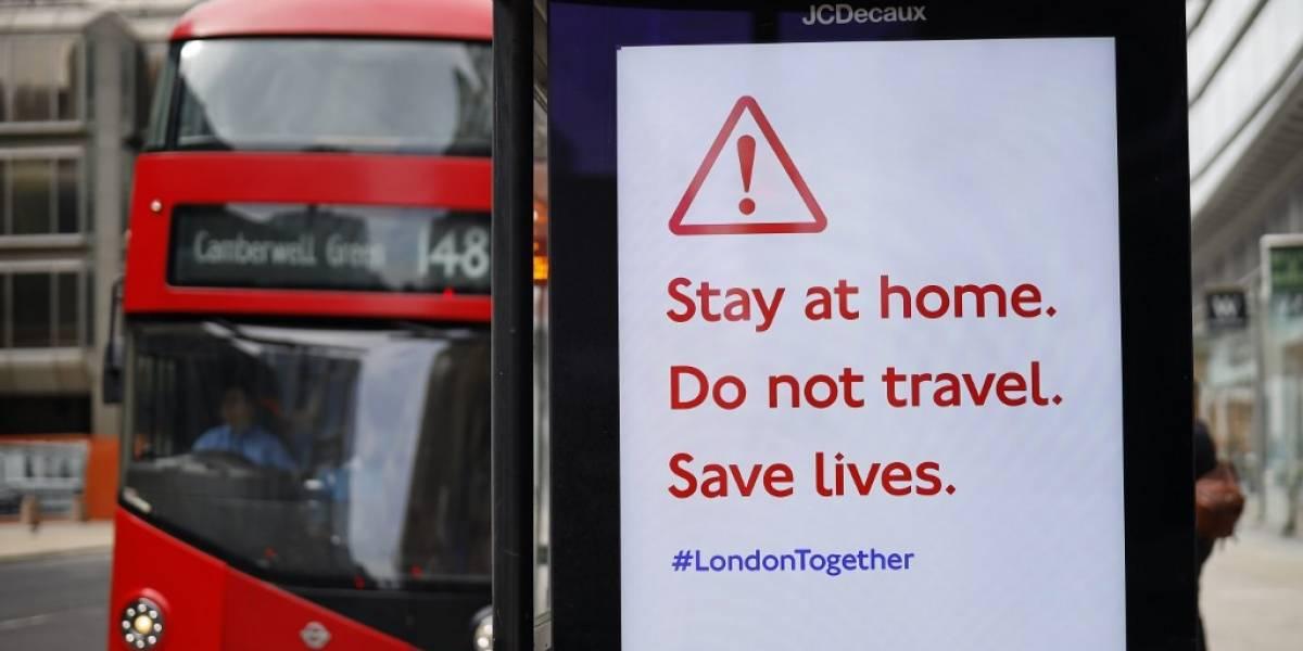 Reino Unido anuncia 847 nuevas muertes por Coronavirus