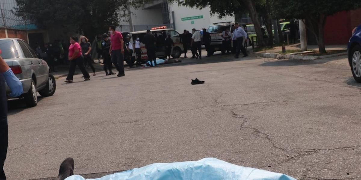 Un muerto y un herido tras ataque armado en zona 7
