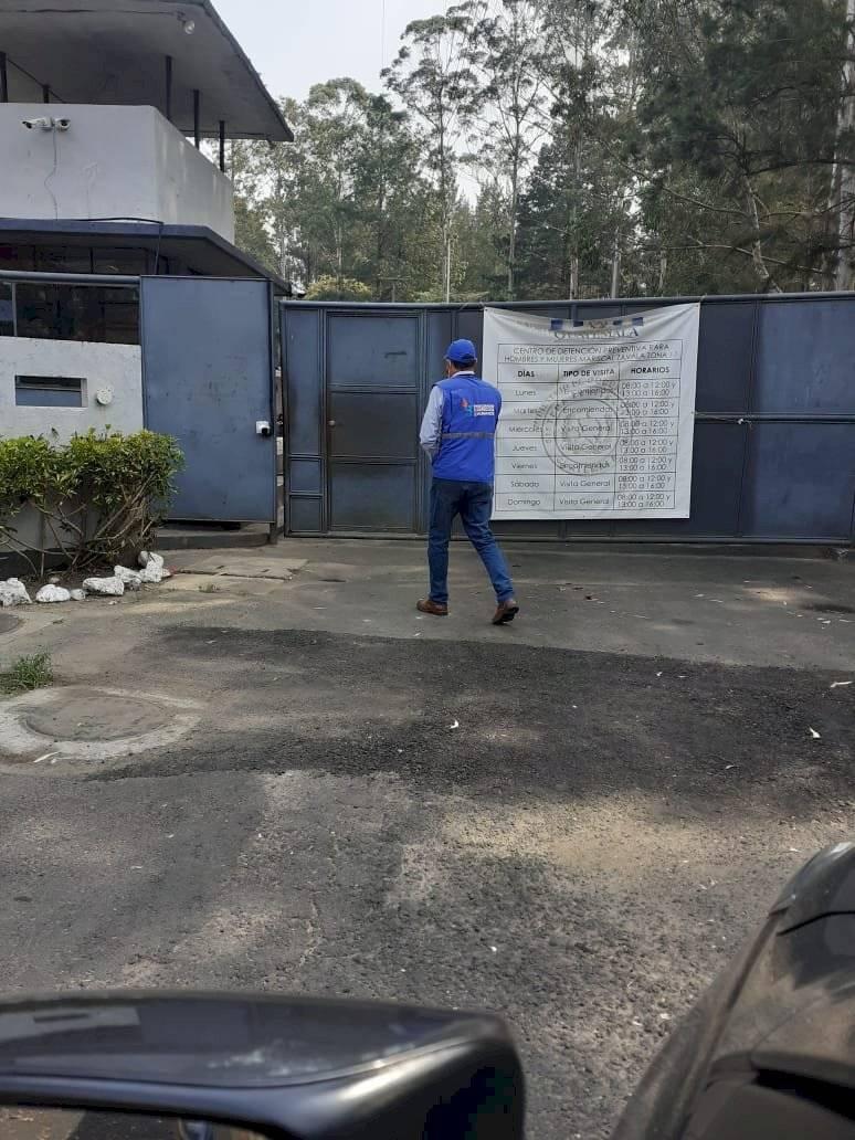 PDH verifica cárcel de Mariscal Zavala por posibles casos de coronavirus