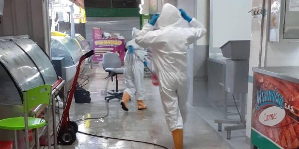 Plaza de mercado que tuvo casos de coronavirus abriría de nuevo si pasa algunas pruebas