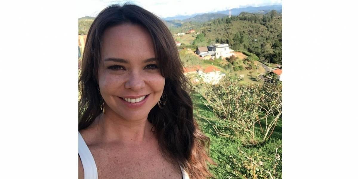 Natasha Klauss se lució con blusa ombliguera y enamoró a sus seguidores