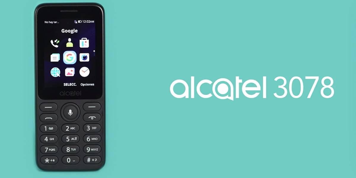 Celulares baratos: Alcatel 3078 tiene WhatsApp, Facebook, YouTube y Google Maps por un precio inmejorable en México