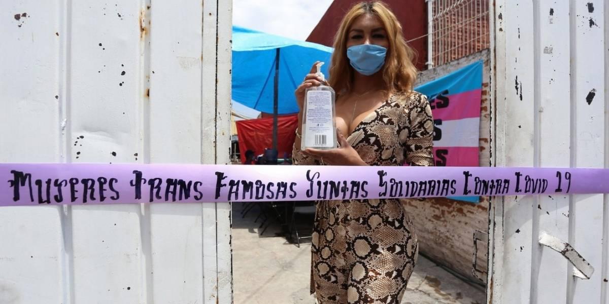 Transexuales mexicanas abren comedor comunitario para paliar hambre por pandemia
