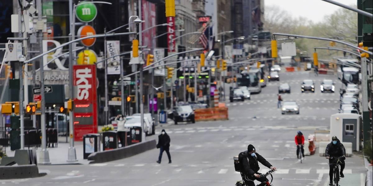 Disminuye por primera vez el número de muertes diarias en Nueva York
