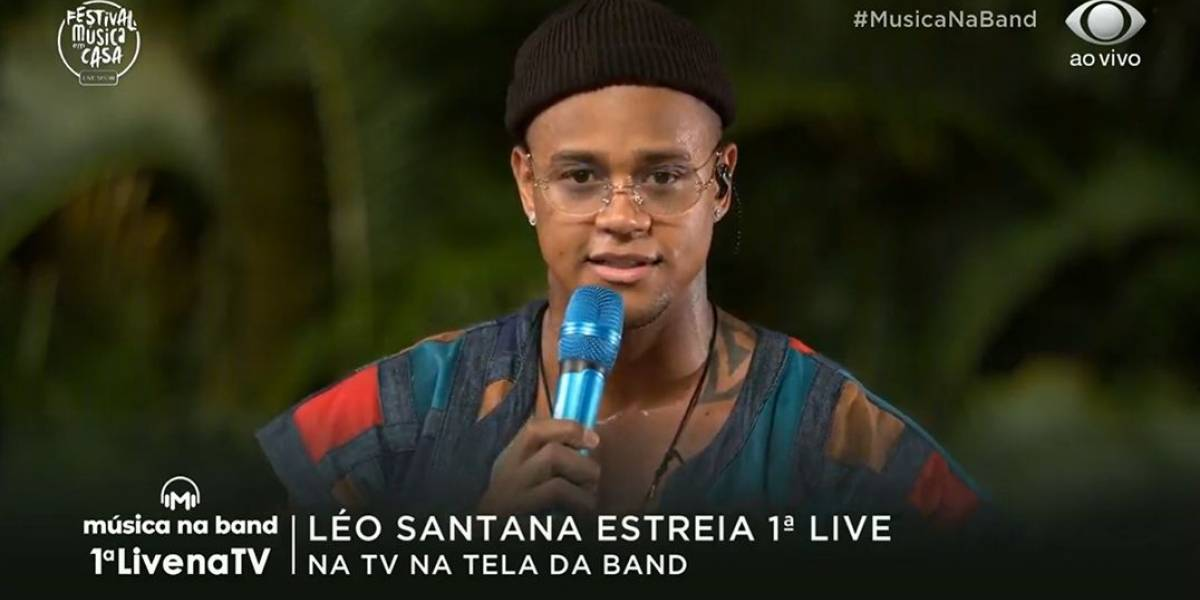 Léo Santana relembra maior sucesso da carreira: 'abriu várias portas'
